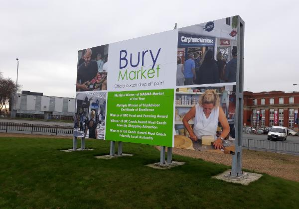 Bury Market record number of coaches in 2019
